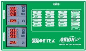 Приборная панель стабилизатора напряжения ORION PLUS